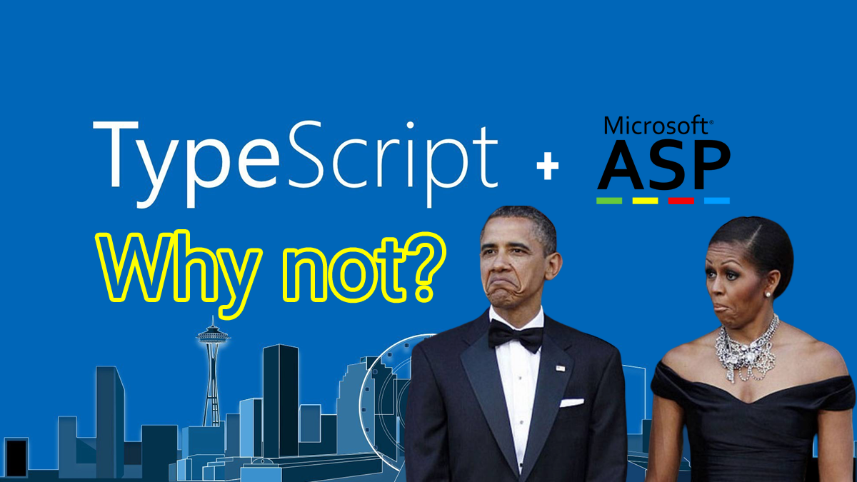 TypeScript + Classic ASP … Why not?