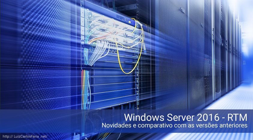 Windows Server 2016 – Overview