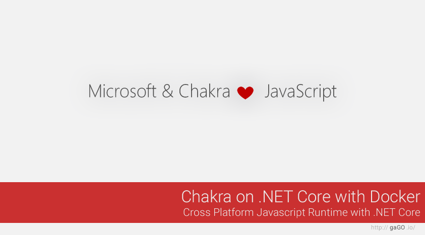 Chakra on .NET Core with Docker