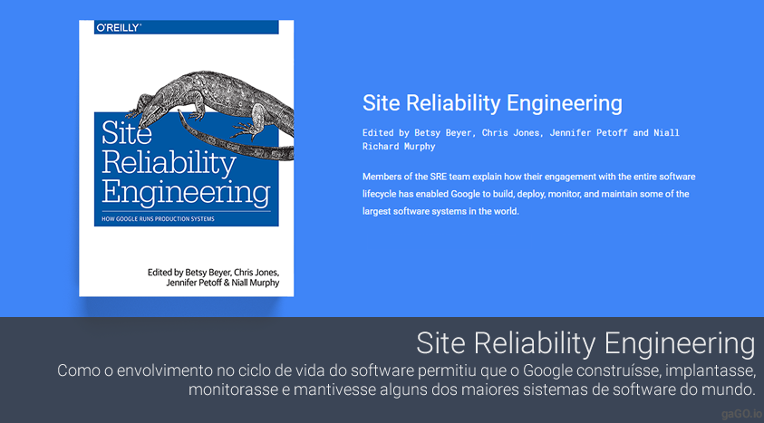Free e-book / Site Reliability Engineering