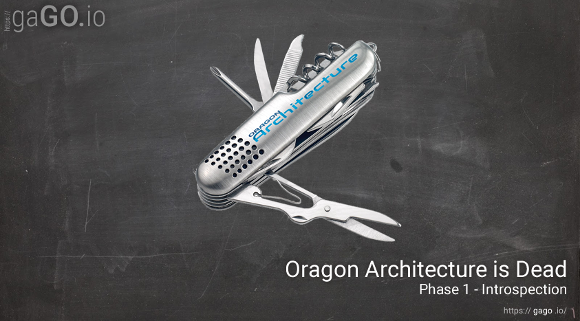 Oragon Architecture Is Dead