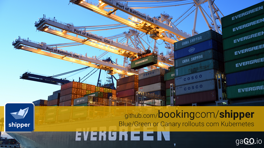 Booking.com – Shipper – BlueGreen e Canary Deployents no Kubernetes