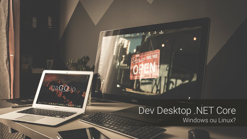 Dev Desktop .NET Core: Windows ou Linux?